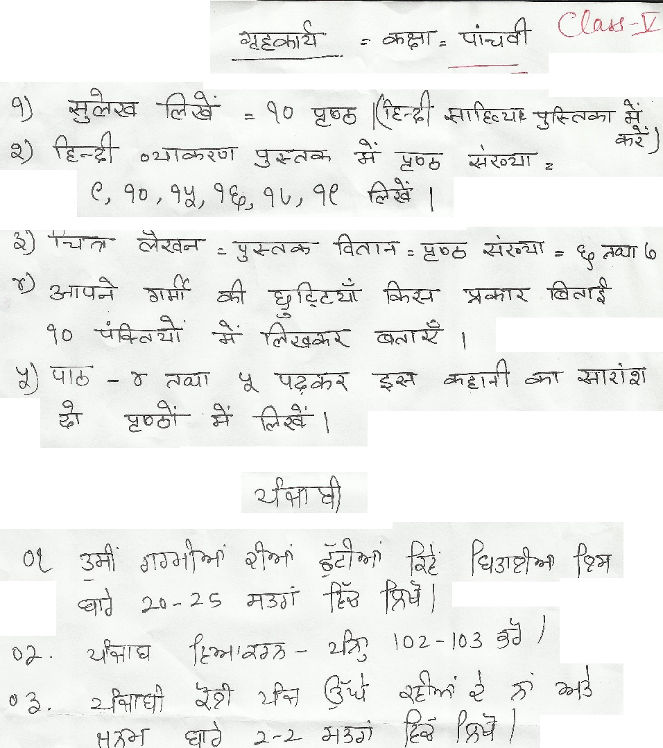 Essay on help janmashtami in hindi for class 3